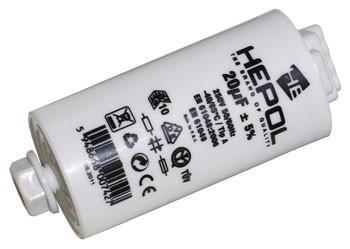 Condensator HEPOL, 250V, 20 mF