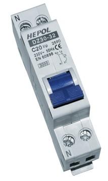 Siguranță Automată DPN fază nul 3kA 20A