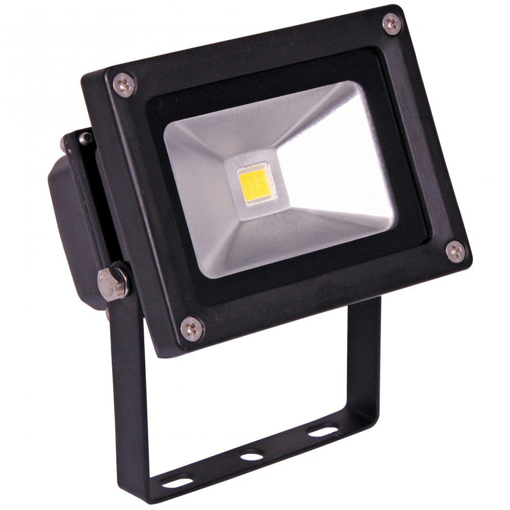Proiector LED HEPOL, 10W, lnegru, umina calda