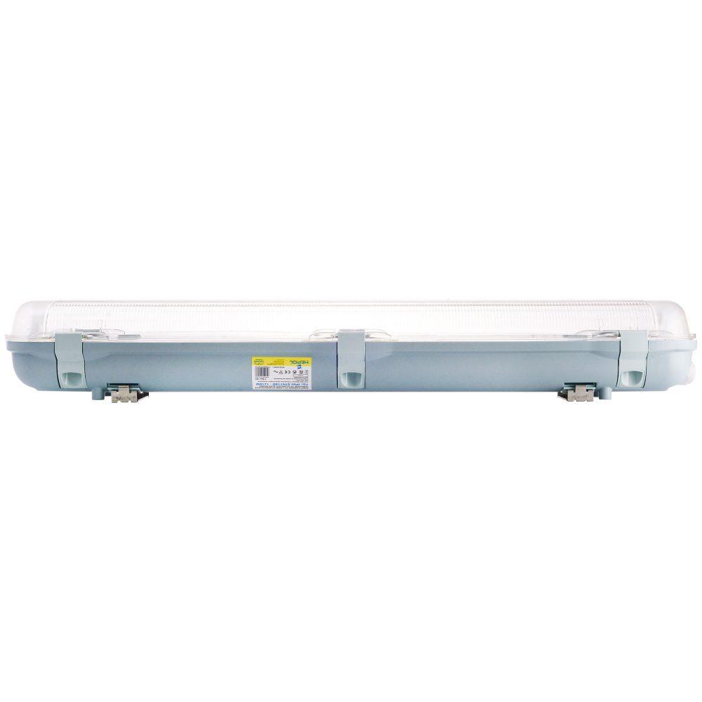 Corp iluminat HEPOL, balast electronic 3AAA, IP65, G13, 1x18W, gri