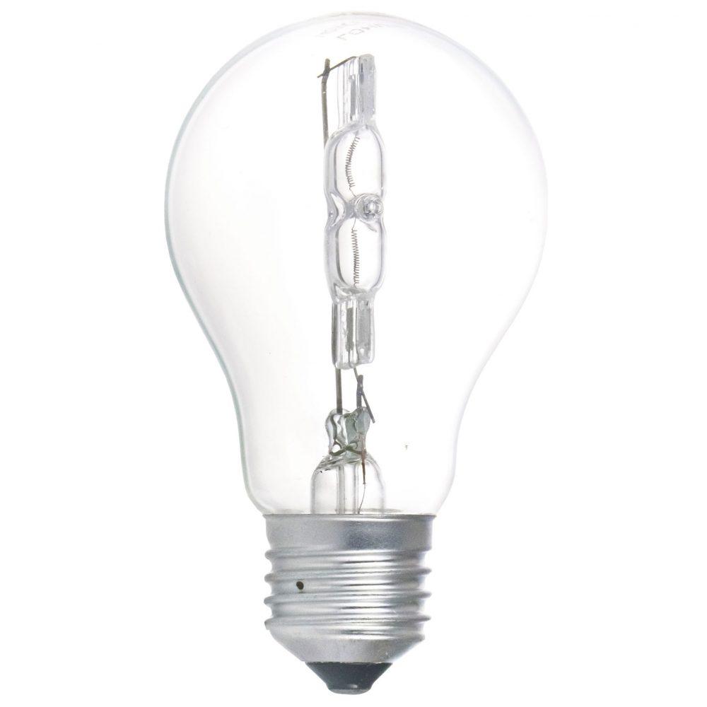 Bec halogen LOHUIS, forma A60, E27, 140W, 2000 ore, lumina calda