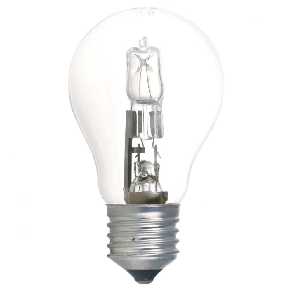 Bec halogen LOHUIS, forma A60, E27, 70W, 2000 ore, lumina calda
