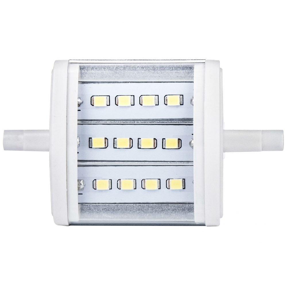 Bec LED LOHUIS, forma liniara, R7S, 4W, 30000 ore, lumina rece