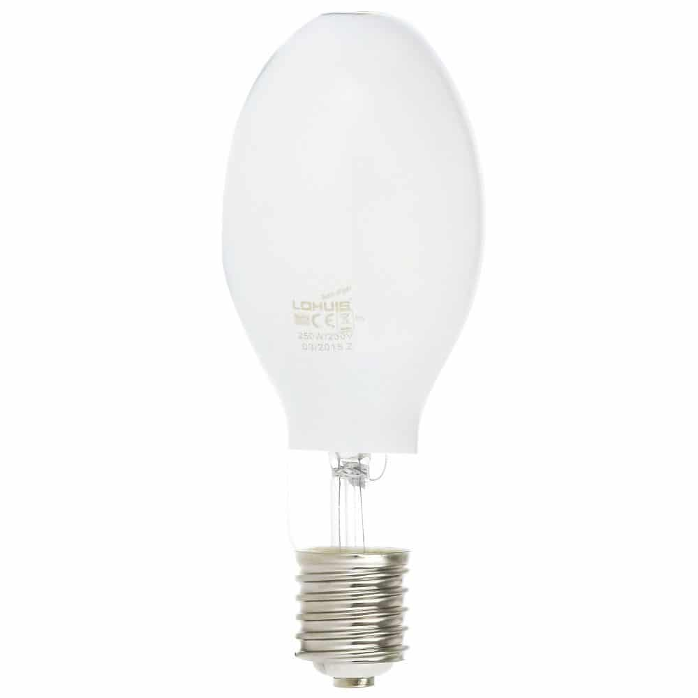 Lampa vapori mercur LOHUIS, forma elipsoidala, E40, 250W, 10000 ore