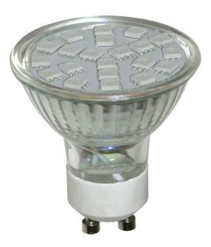 Bec LED HEPOL, forma spot, GU10, 3W, 30000 ore, lumina RGB