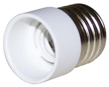 Adaptor HEPOL, E27 - E14, alb