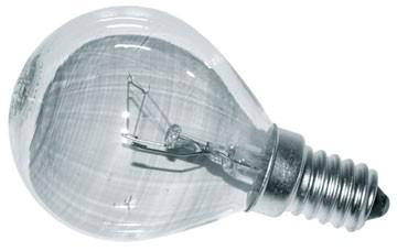 Bec sferic 25W E.14