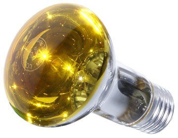 Bec incandescent LOHUIS, forma reflector R63, E27, 40W, 1000 ore, lumina galbena