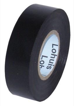 Banda izolatoare LOHUIS, 19mm x 19m, negra