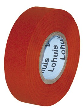 Banda izolatoare LOHUIS, 19mm x 10m, rosie