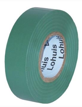 Banda izolatoare LOHUIS, 19mm x 19m, verde