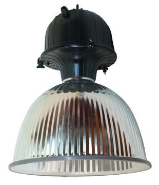 """Corp iluminat industrial HEPOL HL5 19"""", aluminiu, neechipat, E40"""