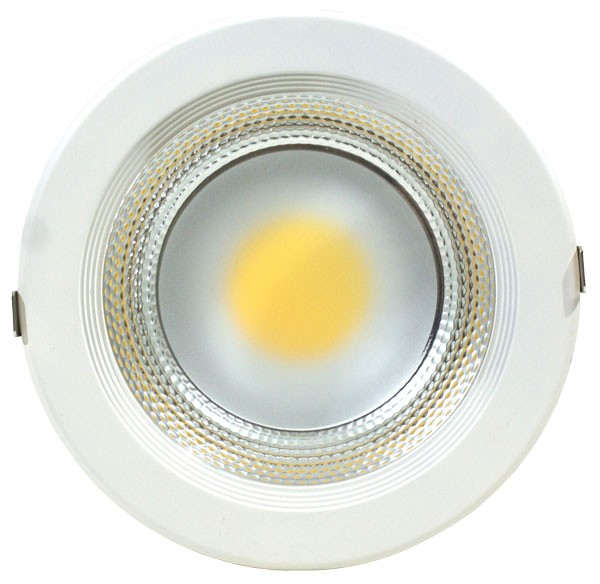 Spot LED COB HEPOL, 195mm, 25W, lumina calda