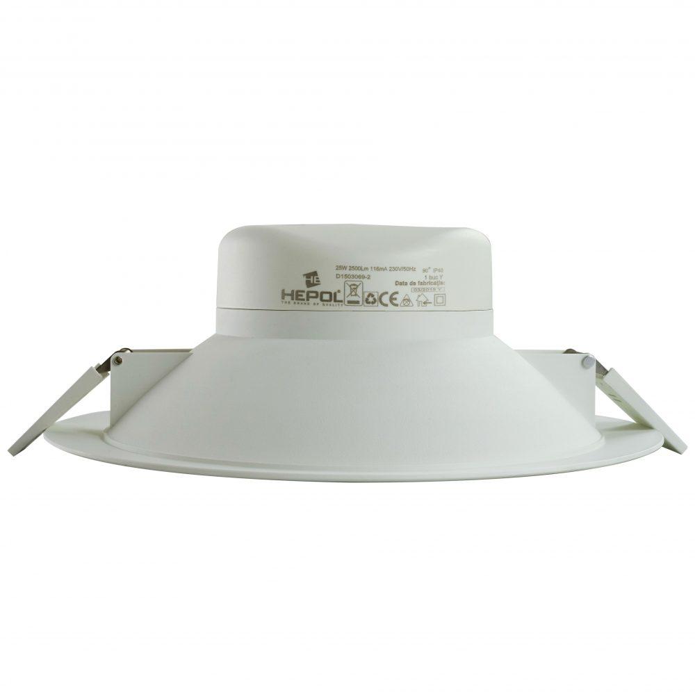 Spot LED HEPOL, 210mm, 25W, lumina calda