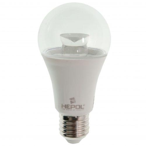 Bec LED LOHUIS, forma A60, transparent, E27, 5W, 30000 ore, lumina calda