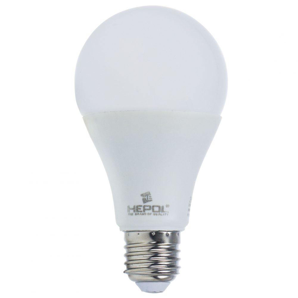 Bec LED HEPOL, forma A70, E27, 15W, 30000 ore, lumina calda