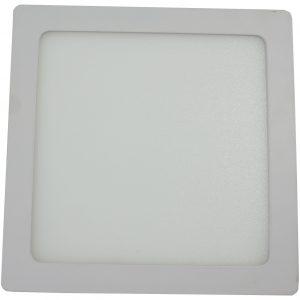 Spot LED HEPOL, patrat, aparent/PT, 220mm, 18W, lumina calda