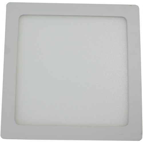 Spot LED HEPOL, patrat, aparent/PT, 220mm, 18W, lumina calda