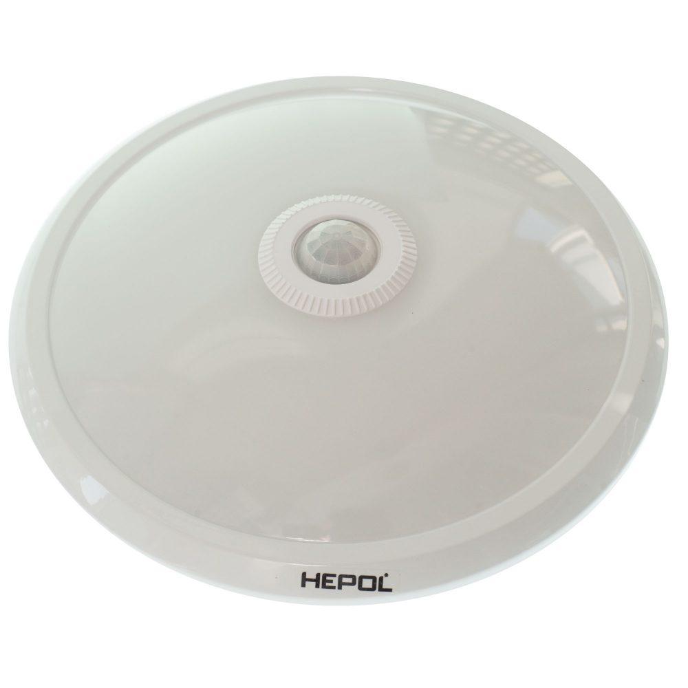 Aplica LED cu senzor HEPOL, aparent/PT, 12W, lumina neutra