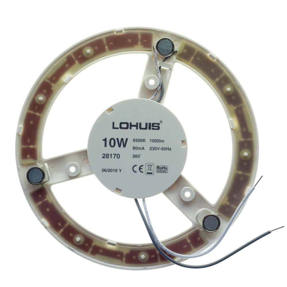 Modul LED LOHUIS, 170mm, 10W, 25000 ore, lumina rece