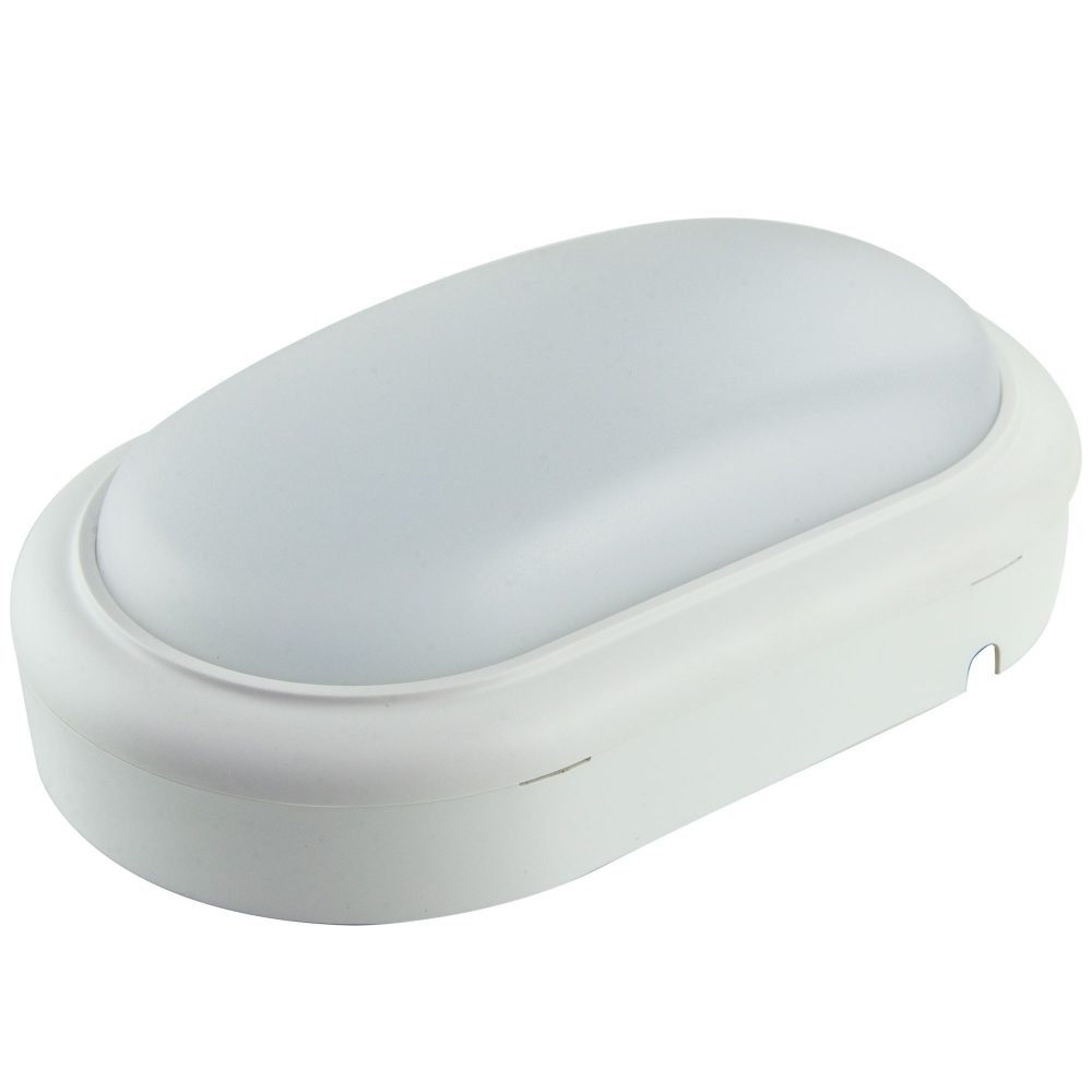 Aplica LED ovala HEPOL, aparent/PT, 15W, lumina rece