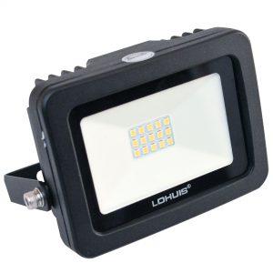 Proiector LED LOHUIS, APOLLO, IP65, 10W, negru, lumina rece