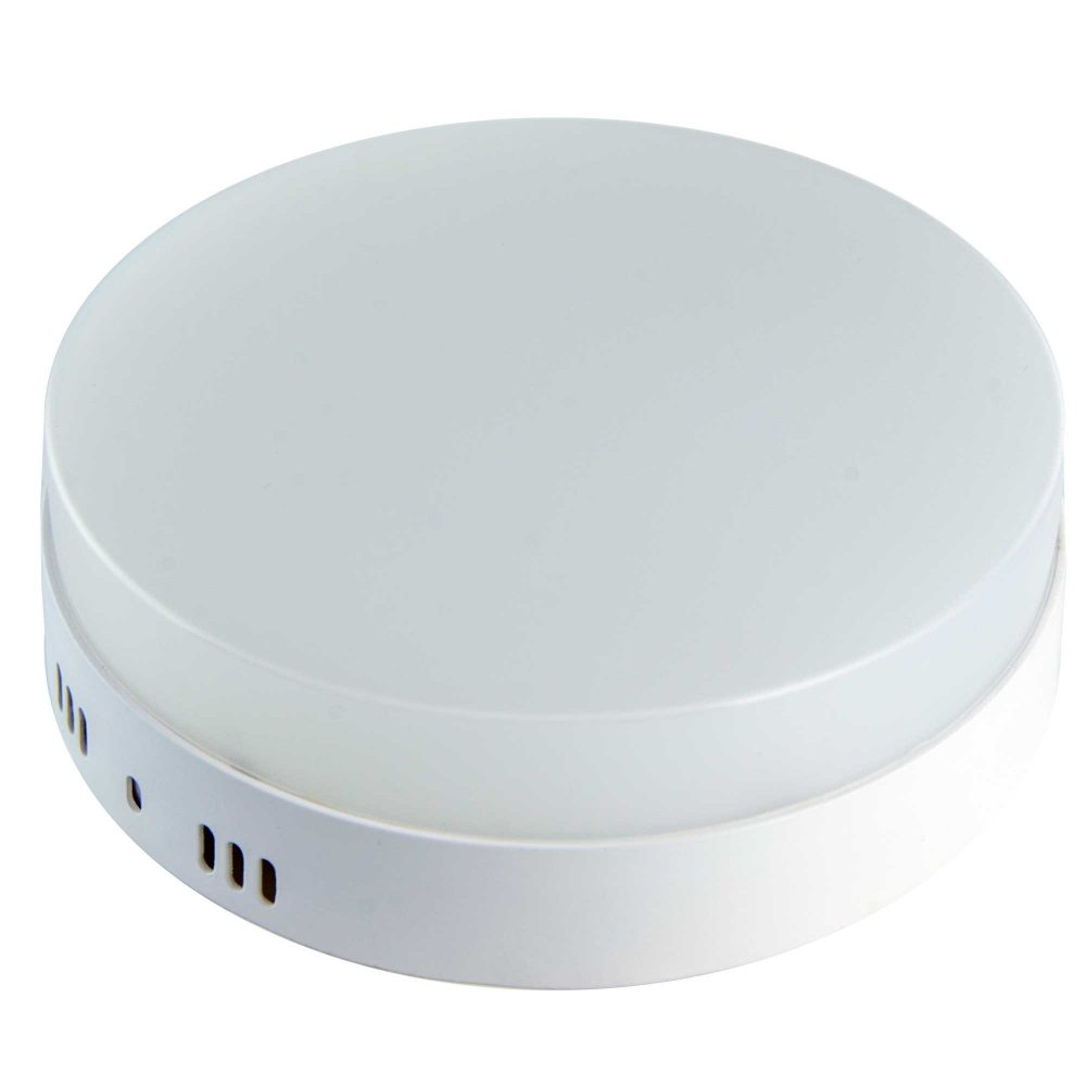 Aplica LED rotunda HEPOL, aparent/PT, 18W, lumina rece