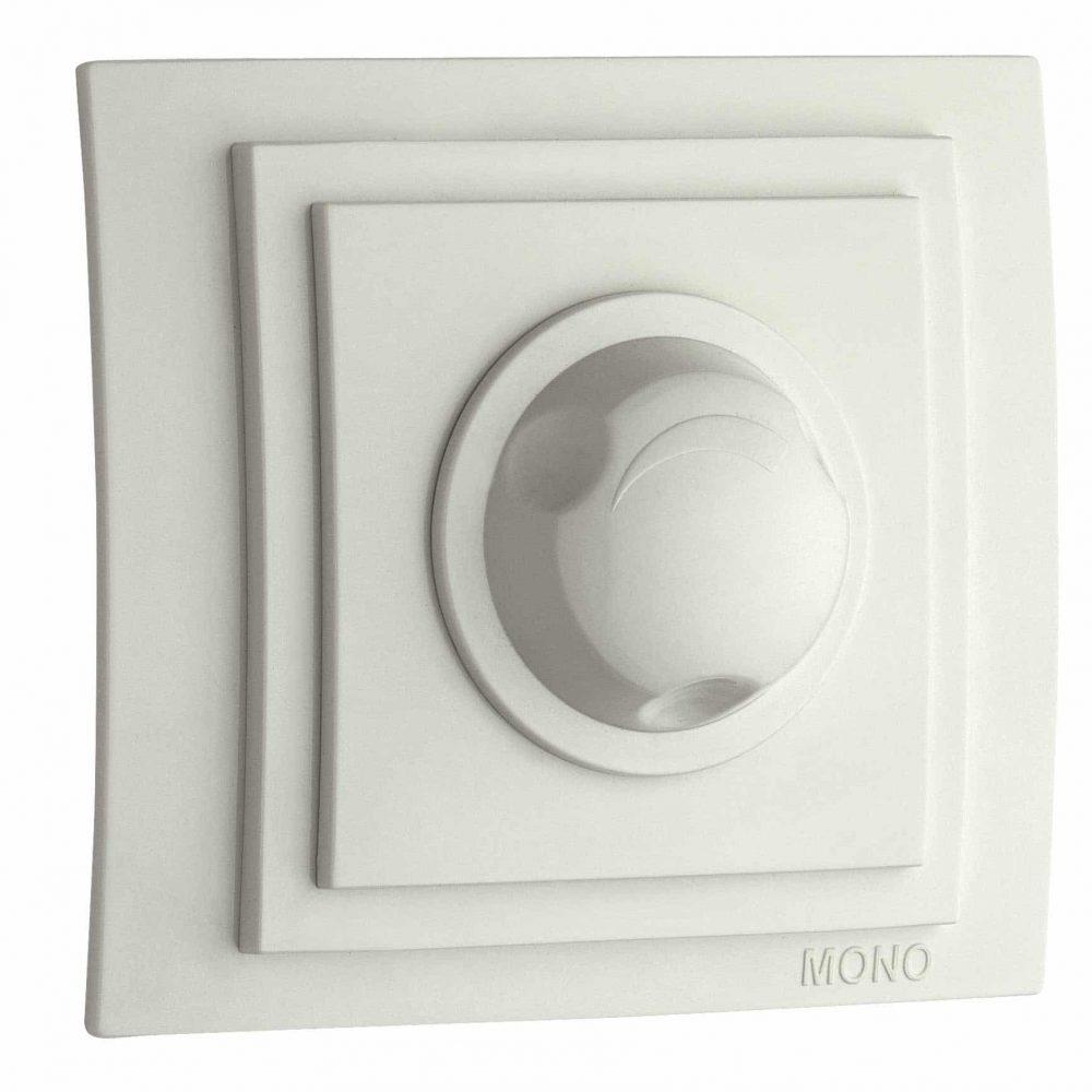 Variator Mono Electric, LARISSA, 800W, ingropat/ST, alb