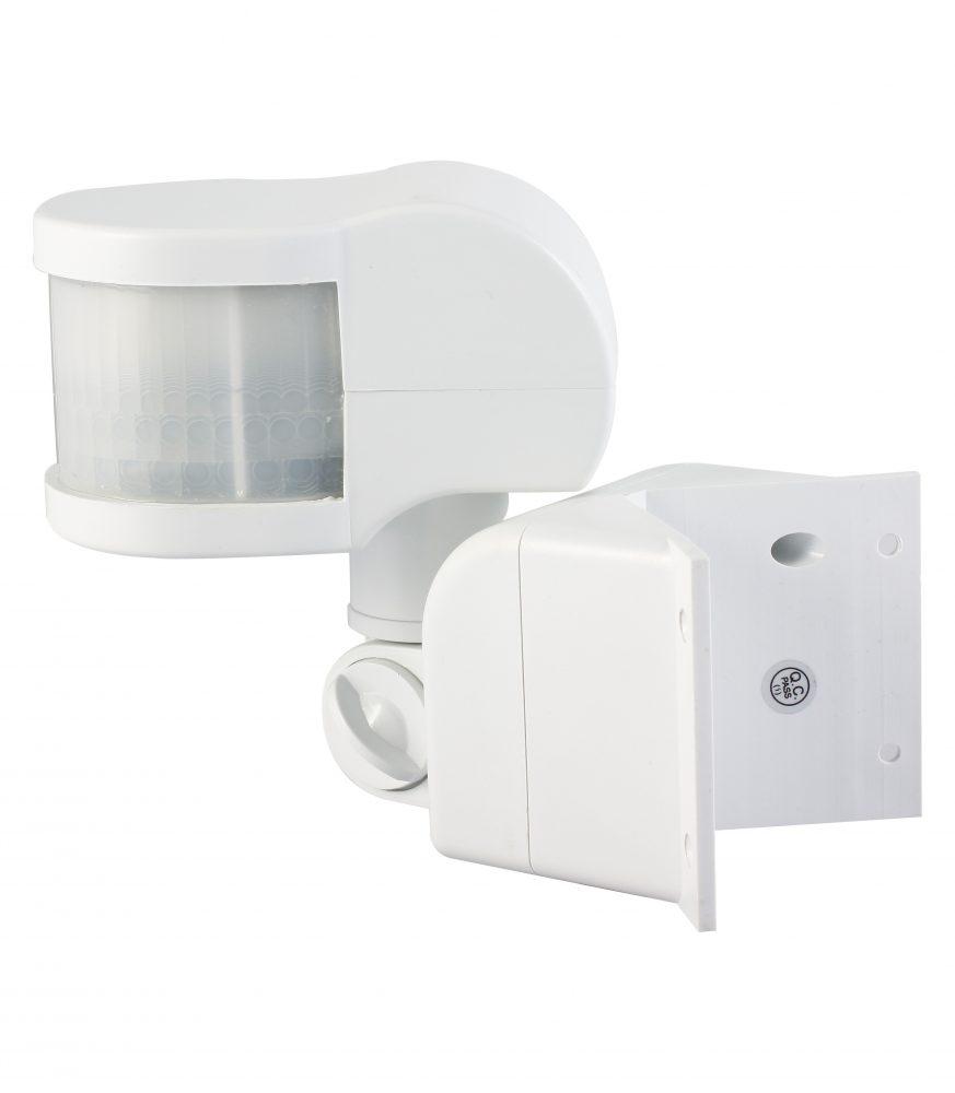 Senzor de miscare HEPOL, de colt, 270 grade, IP20, alb