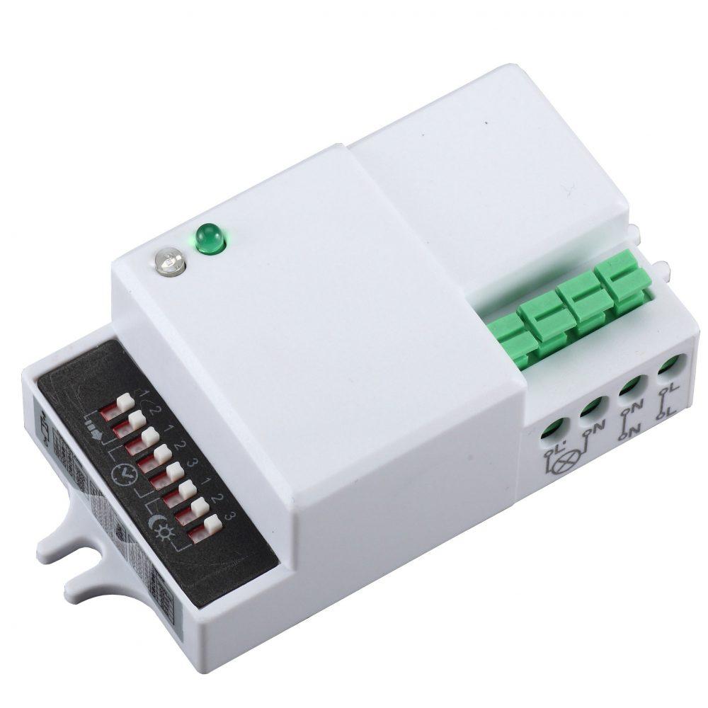 Senzor de miscare HEPOL, 5 - 15m, 360 grade, IP20, alb