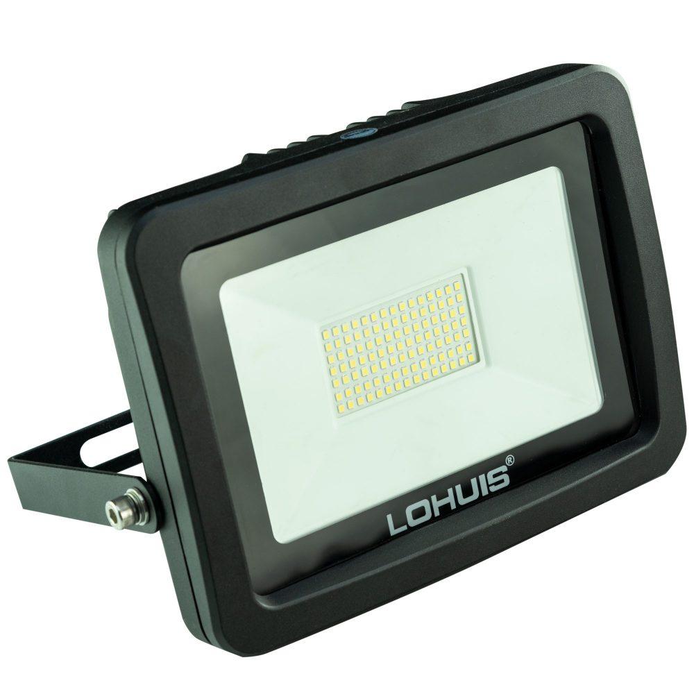 Proiector LED LOHUIS, APOLLO, IP65, 70W, negru, lumina rece