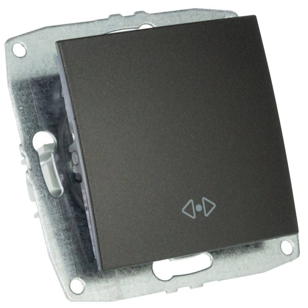Mecanism Intrerupator cap cruce Mono Electric, ingropat/ST, FUME
