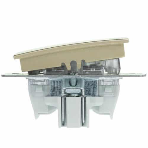 Mecanism Intrerupator sonerie Mono Electric, ingropat/ST, TITANIUM