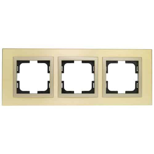 Rama Mono Electric, 3 module, STYLE, TITANIUM