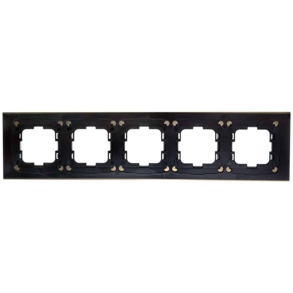Rama Mono Electric, 5 module, STYLE, BRONZ