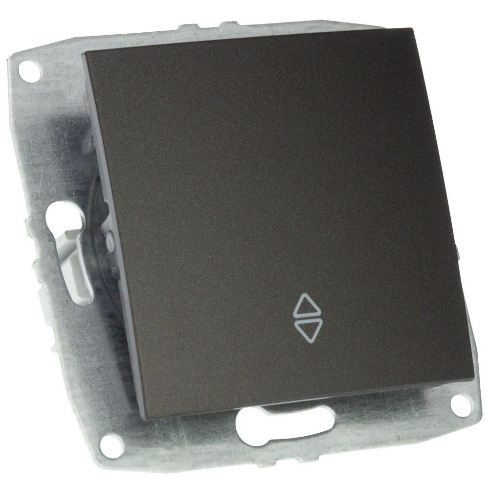 Mecanism Intrerupator cap scara Mono Electric, LARISSA, ingropat/ST, FUME