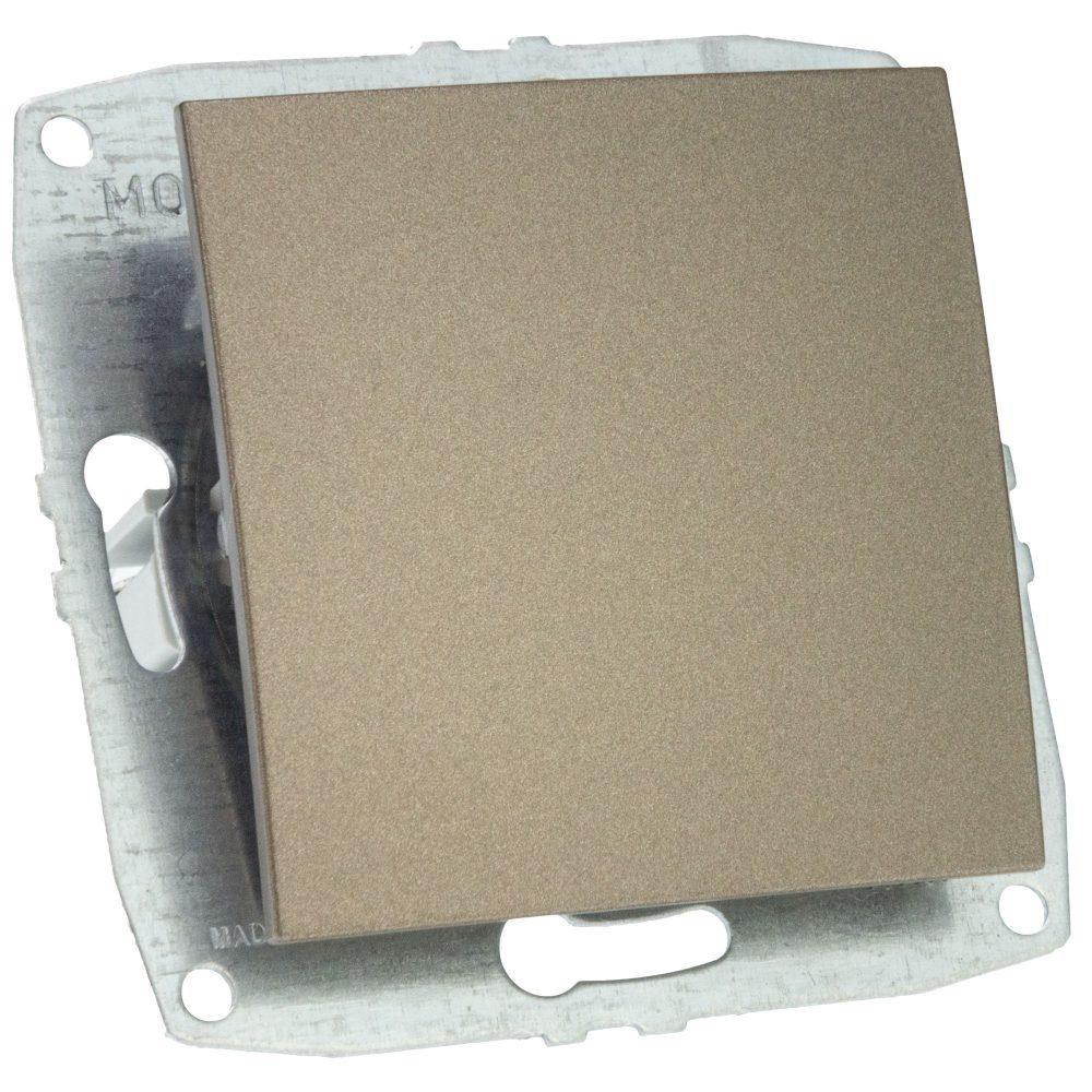 Mecanism Intrerupator simplu Mono Electric, ingropat/ST, LIGHT FUME