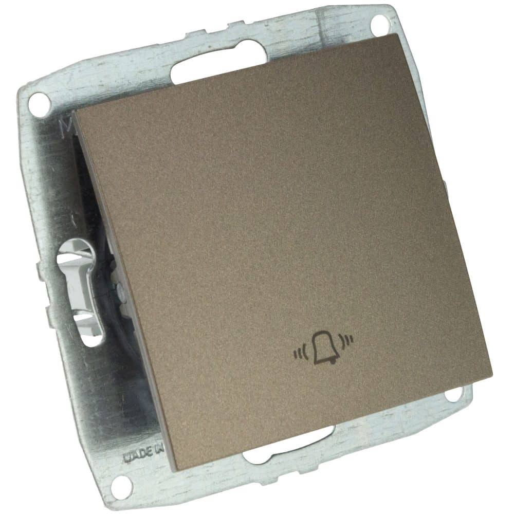 Mecanism Intrerupator sonerie Mono Electric, ingropat/ST, LIGHT FUME