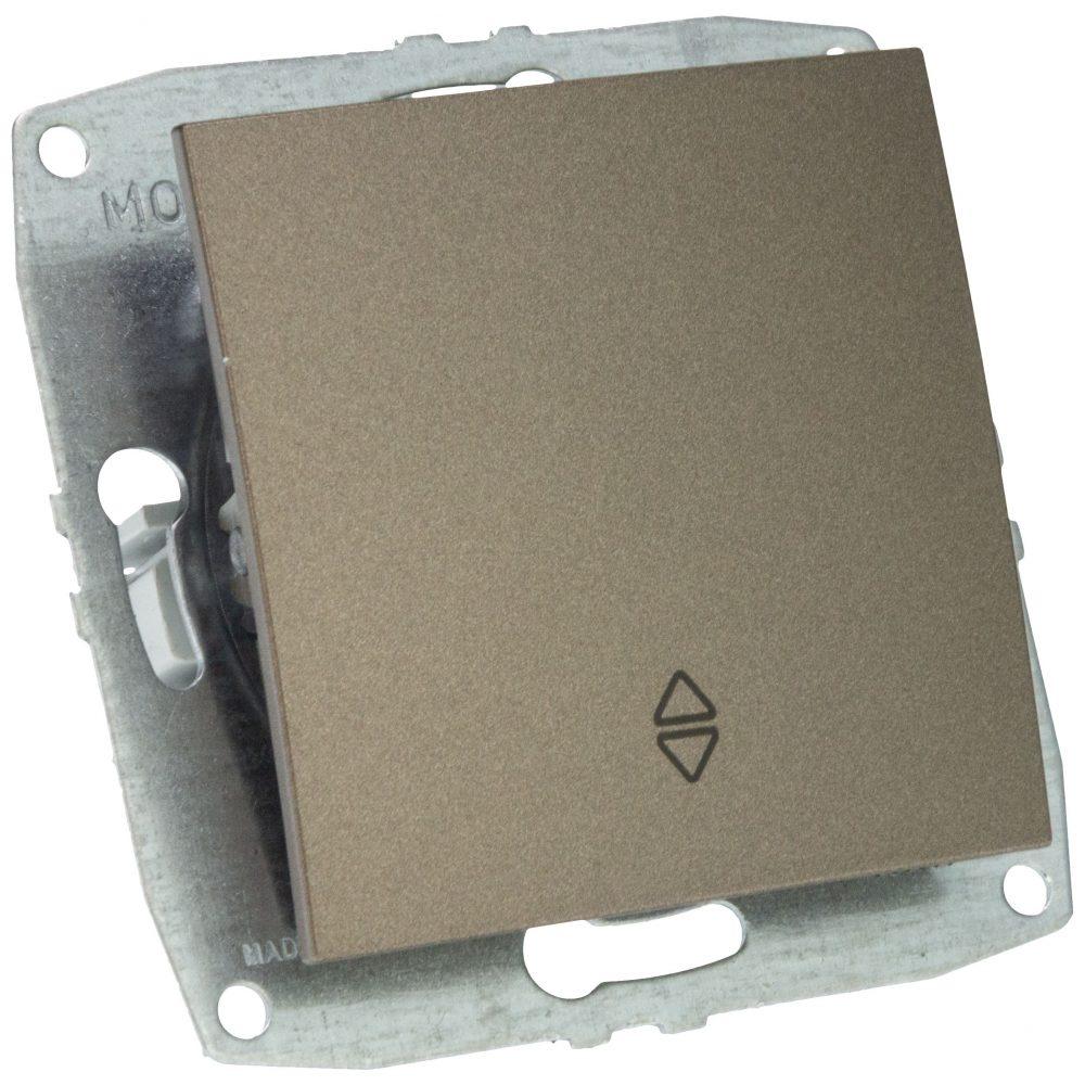 Mecanism Intrerupator cap scara Mono Electric, ingropat/ST, LIGHT FUME