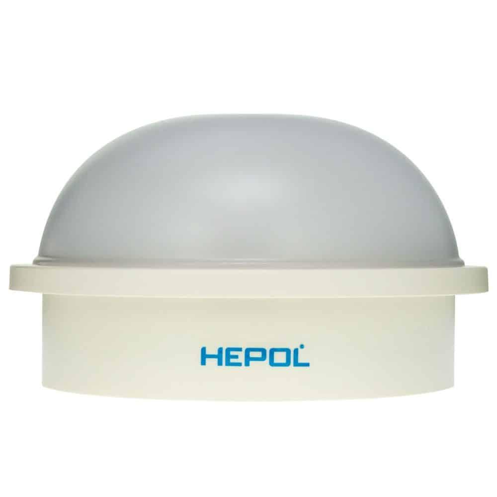 Aplica LED ovala HEPOL, aparent/PT, 20W, lumina rece