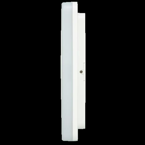 Aplica LED patrat HEPOL, aparent/PT, 24W, IP54, lumina rece