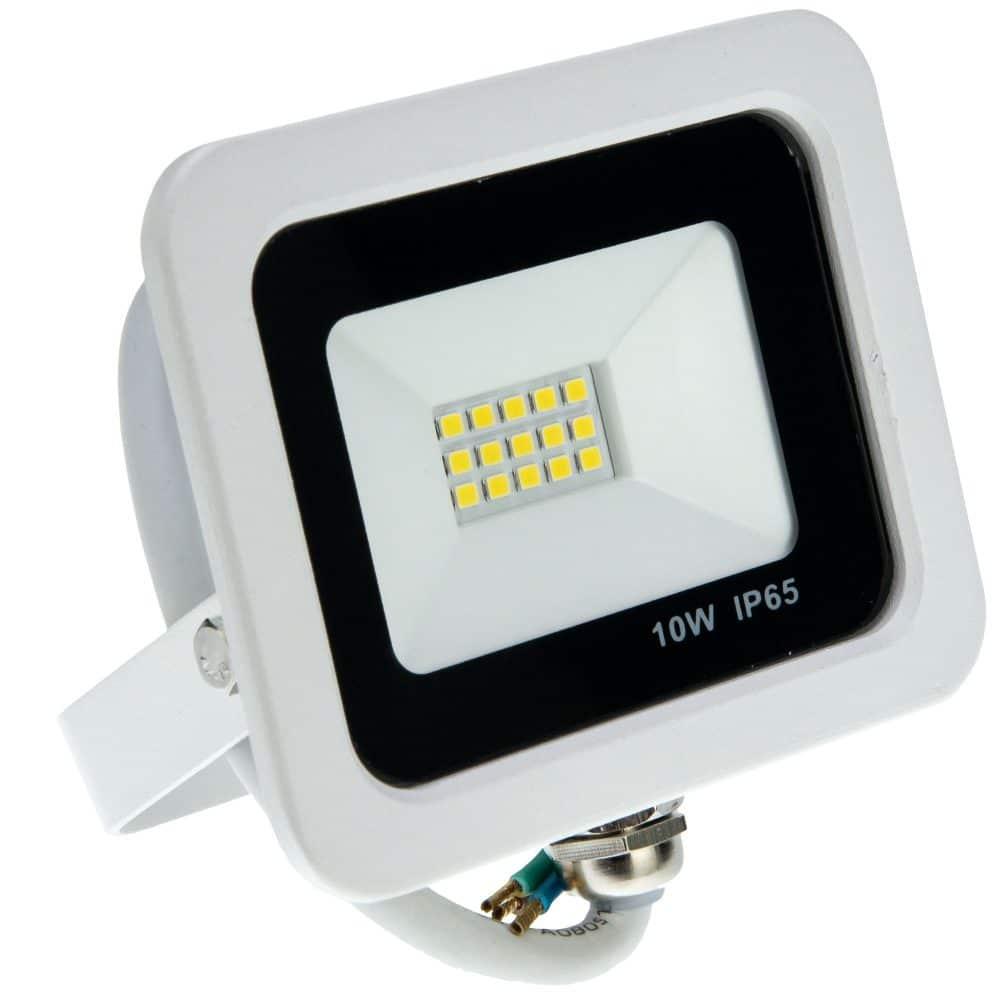Proiector LED LOHUIS, VENUS, IP65, 10W, alb, lumina rece