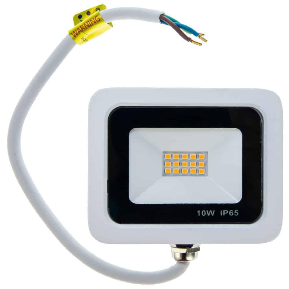 Proiector LED HEPOL, VENUS, IP65, 10W, alb, lumina calda