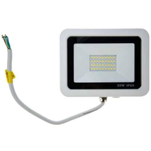 Proiector LED LOHUIS, VENUS, IP65, 20W, alb, lumina rece