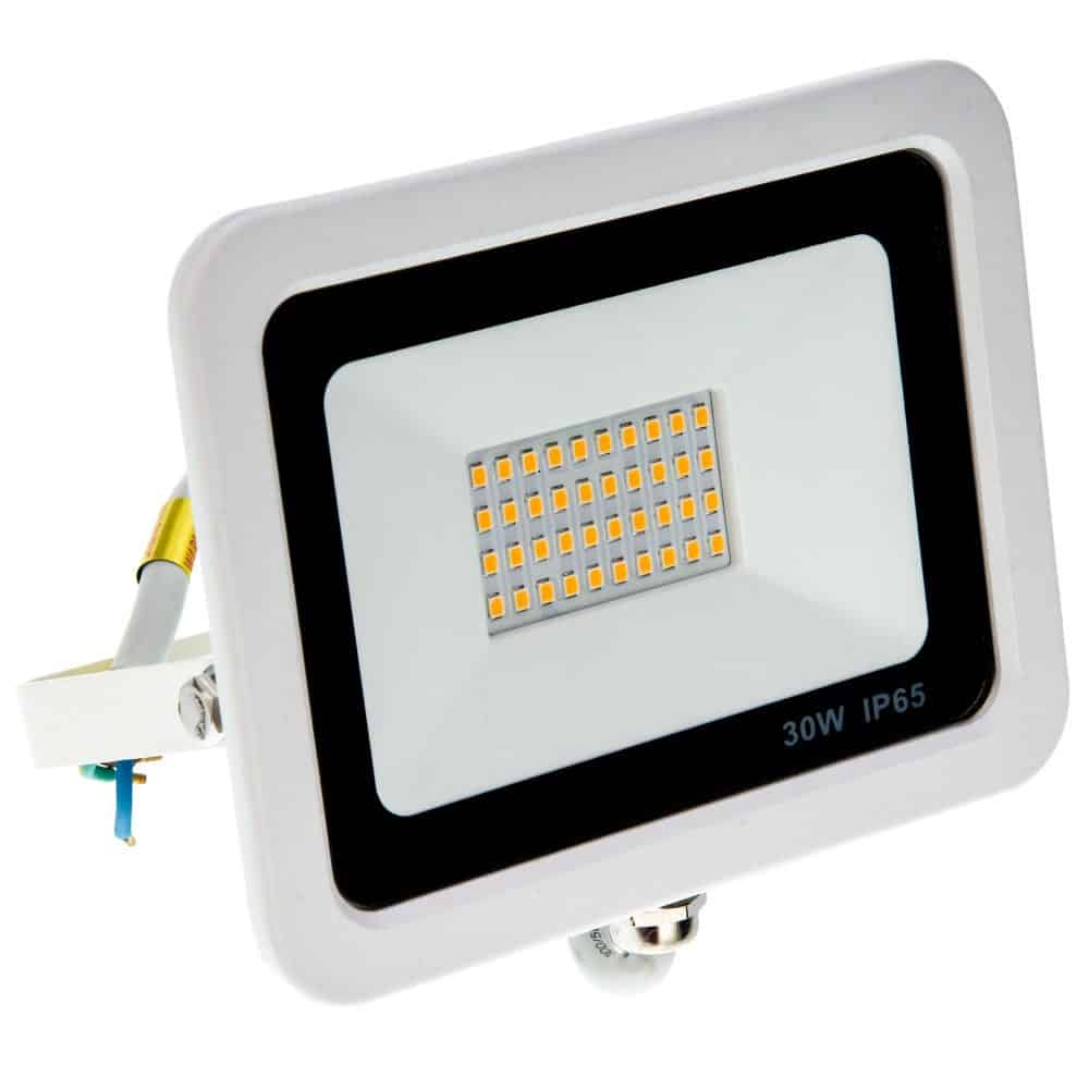 Proiector LED HEPOL, VENUS, IP65, 30W, alb, lumina calda