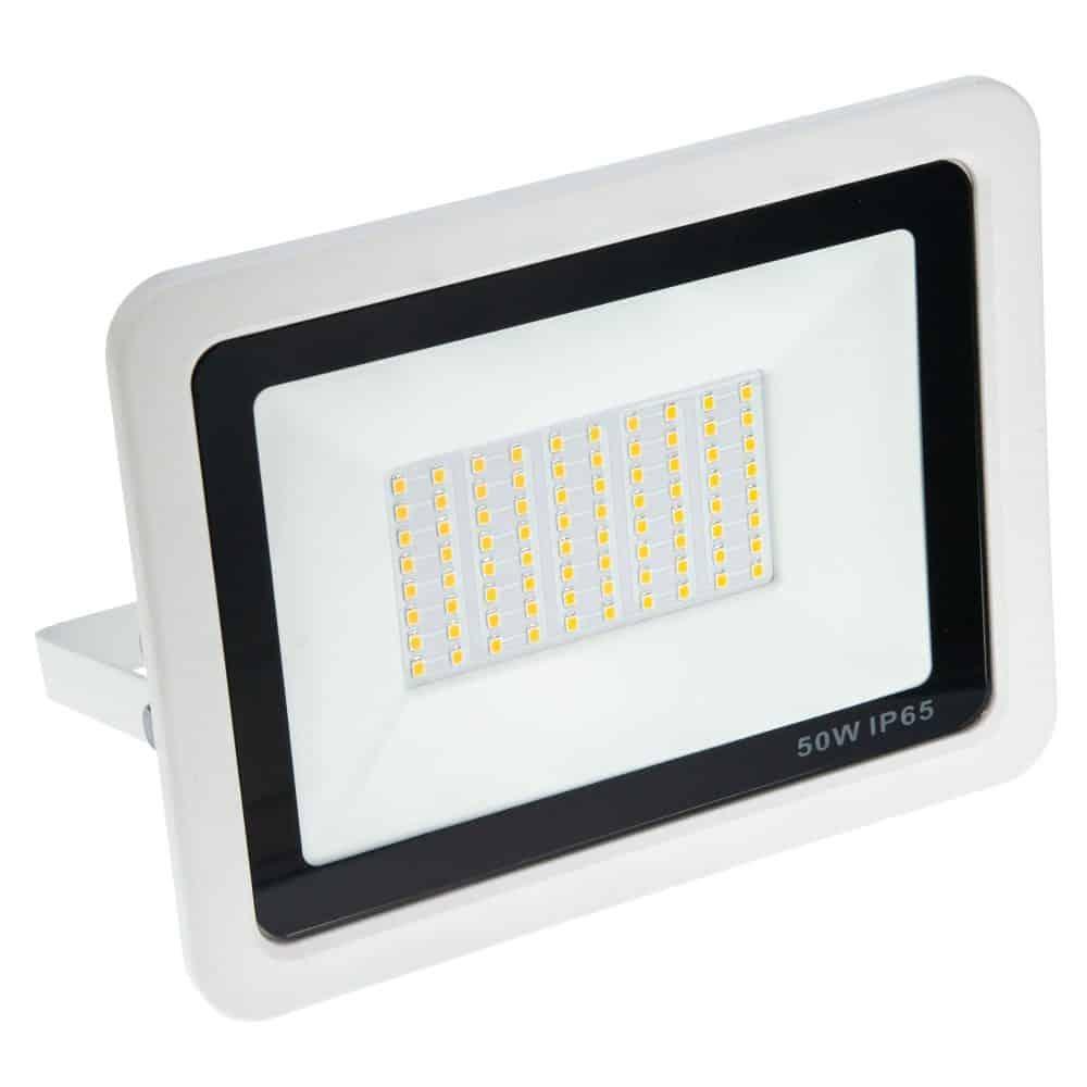 Proiector LED HEPOL, VENUS, IP65, 50W, alb, lumina calda