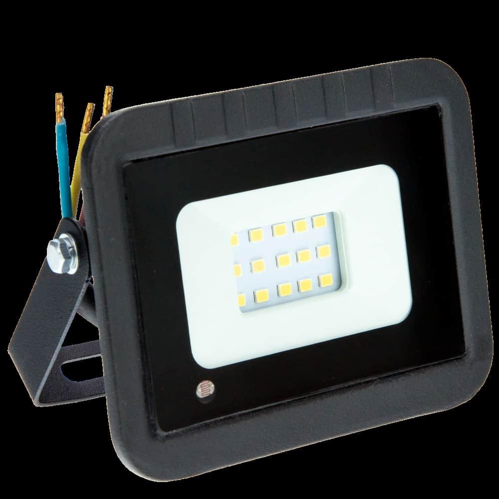 Proiector LED LOHUIS, VENUS cu senzor, IP65, 10W, negru, lumina rece