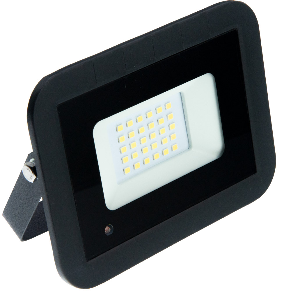 Proiector LED LOHUIS, VENUS cu senzor, IP65, 20W, negru, lumina rece
