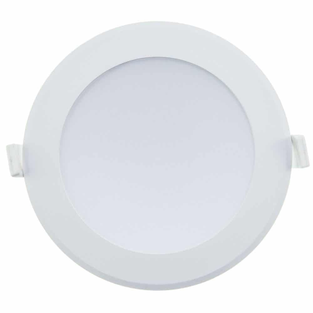 Spot LED rotund HEPOL, ALFA, incastrat/ST, 15W, lumina rece
