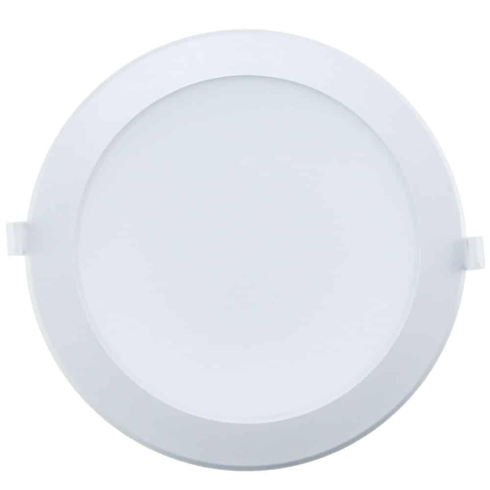 Spot LED rotund HEPOL, ALFA, incastrat/ST, 25W, lumina rece
